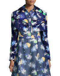 Creatures of the Wind - Cropped Floral-Print Jacket - Lyst