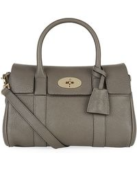 Mulberry Small Bayswater Classic Grain Satchel - Lyst