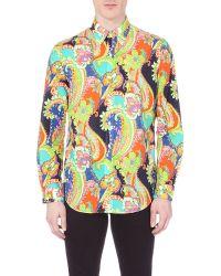 Ralph Lauren Paisley-print Cotton Shirt - Lyst
