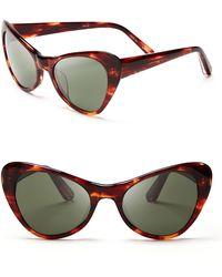 Elizabeth And James Slauson Polarized Cat Eye Sunglasses - Lyst