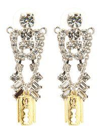 Tom Binns - Cut Couture Earring - Lyst