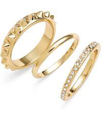 Rebecca Minkoff - 'jewel Box' Stackable Rings - Lyst