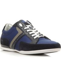 Hugo Boss Spacit Lace Up Combo Mudguard Trainers - Lyst