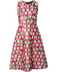 Marni Pink Printed Dress - Lyst