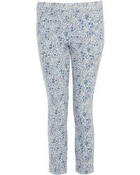 Uniqlo - Emelias Flowers Printed Cropped Legging Trousers - Lyst