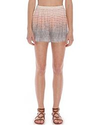 Tangerine Nyc - Tanner Shorts - Lyst