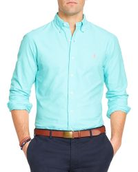 Ralph Lauren Polo Oxford Shirt  - Lyst
