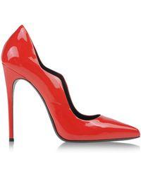 Gianmarco Lorenzi Pumps red - Lyst