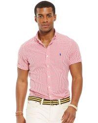Polo Ralph Lauren Check Seersucker Shirt - Lyst