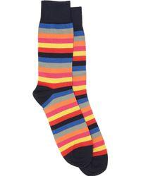 Corgi Multicolorstripe Midcalf Sock - Lyst