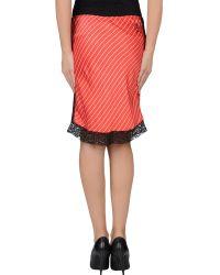 Emily The Strange - Knee Length Skirt - Lyst