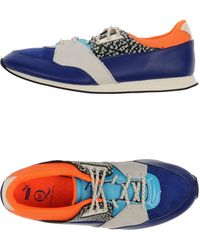 Alexander McQueen x Puma | Nubuck Leather Low-Top Sneakers | Lyst