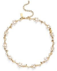Kate Spade - 'pretty Petals' Collar Necklace - Lyst