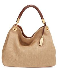 96aa1cb4a666 Michael Kors - Large Skorpios Leather Hobo - Lyst