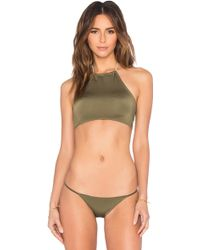 Salt Swimwear   Janis Bikini Top   Lyst