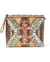 Steven by Steve Madden - Kaylegh Beaded Wristlet - Lyst