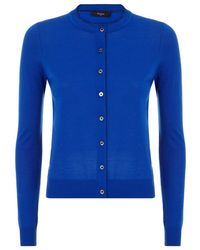 Paul Smith Black Label Slim Fit Merino Wool Cardigan - Lyst