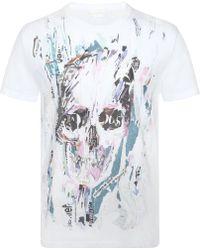 Alexander McQueen Graphic Skull-print T-shirt - Lyst