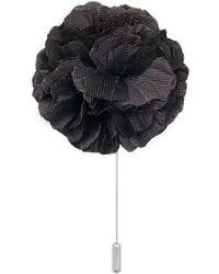 Dibi - Dark Slate Grey & Black Lapel Pin - Lyst