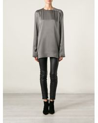 Haider Ackermann Loose Fit Raglan Sleeve Top - Lyst