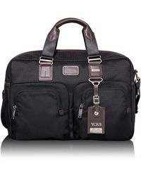 d48ebd06fb83 Lyst - Tumi Alpha Bravo Everett Tote in Black for Men