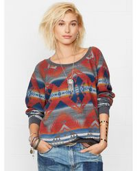 Denim & Supply Ralph Lauren Southwestern Cotton Pullover - Lyst