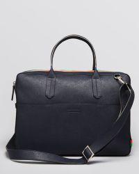 Ben Minkoff - Fulton Saffiano Slim Briefcase - Lyst