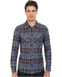 Volcom | Party Train Long Sleeve Flannel | Lyst