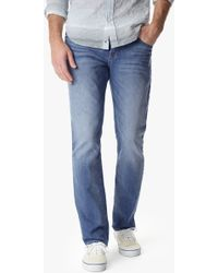 7 For All Mankind The Straight With Clean Pocket - Lyst