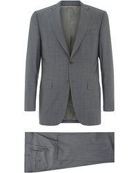 Canali Fine Tonal Stripe Suit - Lyst