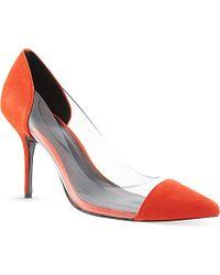 Sandro Suede Court Heels - For Women - Lyst