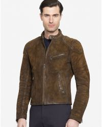Ralph Lauren Black Label Turbo Cafe Jacket - Lyst