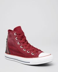Converse Lace Up High Top Sneakers  Tri Zip - Lyst