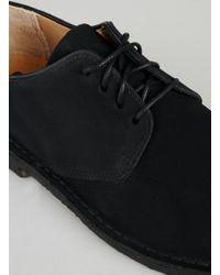 Clarks Original Black Suede Desert Shoes - Lyst