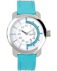 Love Moschino - Wrist Watch - Lyst