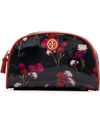 Tory Burch Field Flowers Coated Cosmetic Case - Lyst