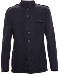 Wooster Lardini Cotton Military Jacket - Lyst
