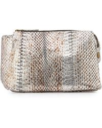 Beirn - Large Watersnake Cosmetic Pouch - Lyst