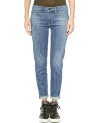 Vince Mason Boyfriend Jeans - Maritime - Lyst