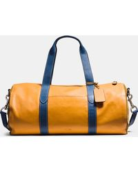 COACH | Large Gym Bag In Sport Calf Leather | Lyst