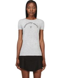 DSquared2 Grey Caten Brothers T_shirt - Lyst