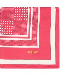 Duchamp Multi-Dot Pocket Square - For Men - Lyst
