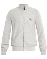 Burberry Brit - Hearst Zip-Up Sweatshirt - Lyst