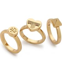 Tory Burch Adeline Stackable Rings  - Lyst