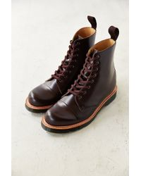 Dr. Martens Charlton 8-eye Polished Boot - Lyst