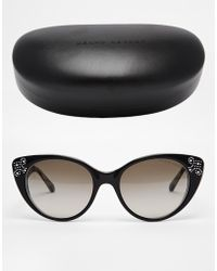 Ralph Lauren Cateye Sunglasses - Lyst