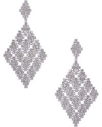 ABS By Allen Schwartz - Chandelier Earrings - Lyst