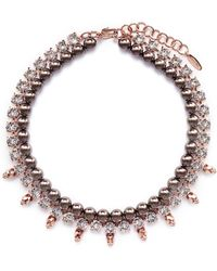 Joomi Lim - Skull Crystal Pearl Necklace - Lyst