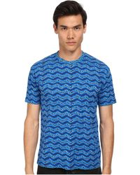 Marc By Marc Jacobs Electric Ikat Jersey Tee - Lyst