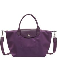 Longchamp Le Pliage Neo Small Handbag with Strap - Lyst
